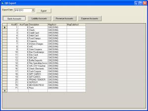 Setup Bank Accounts
